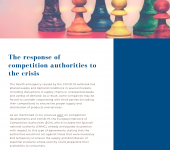 The response of competition authorities to the crisis