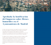 Real Estate Tax refund – Madrid