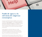 Trust fund to strengthen the solvency of strategic companies
